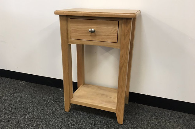 Jersey Oak Console 1 Drawer