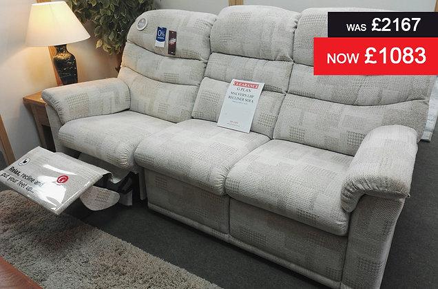 G Plan Malvern Left Hand Facing Recliner Sofa