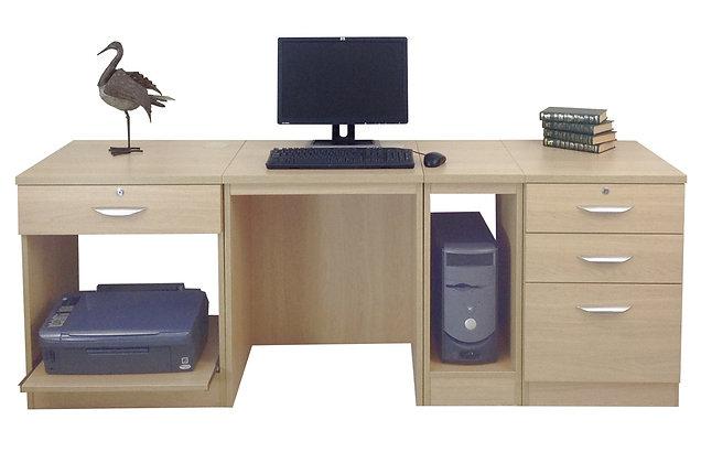 Set 16 – Modular Desk Set with Flexible Storage Options