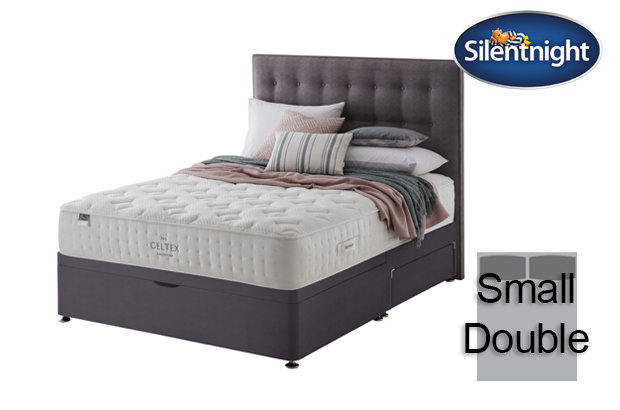 Silentnight Mirapocket Pastel Geltex 1000 Small Double Divan Bed