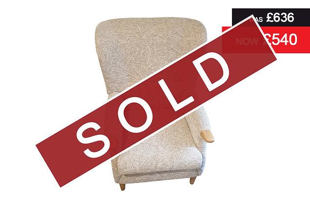 Cintique Newland Fireside Chair - C1024