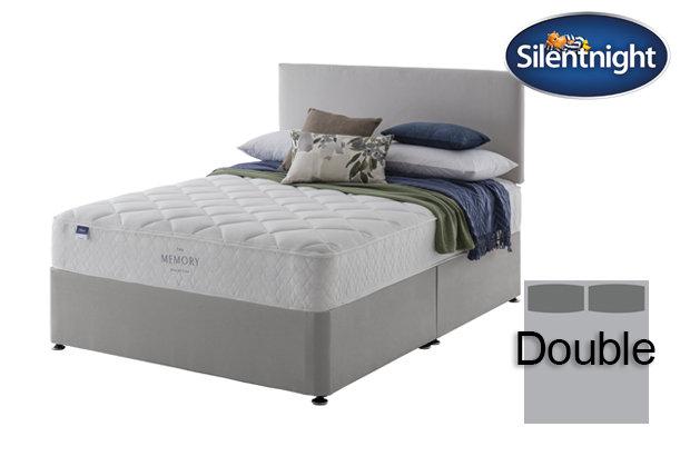 Silentnight Miracoil Seraph Memory Double Divan Bed