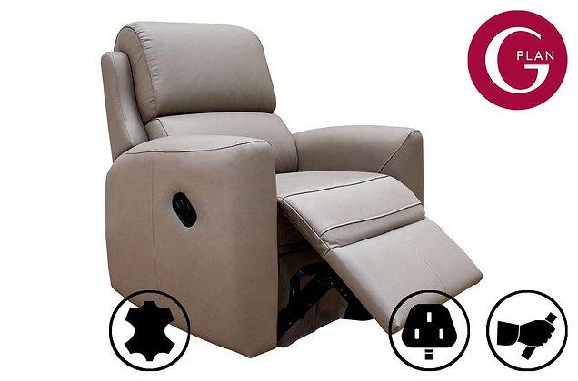 G Plan Hamilton Leather Recliner Chair