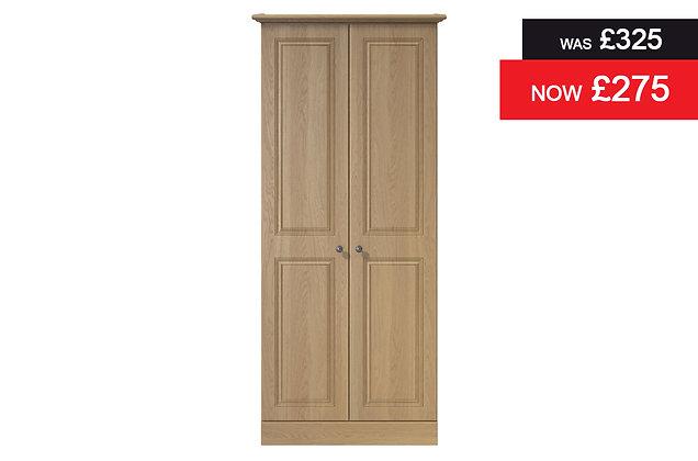 Toledo 2 Door Wardrobe - Oak