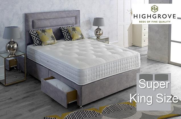 Highgrove Mayfield Ortho Super King Size Divan Bed