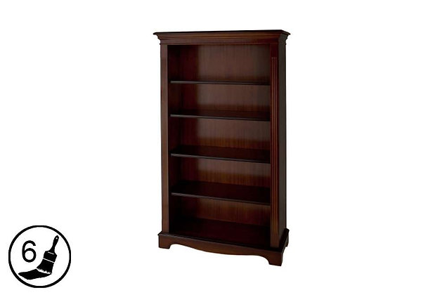 Simply Classical 5ft Open Bookcase