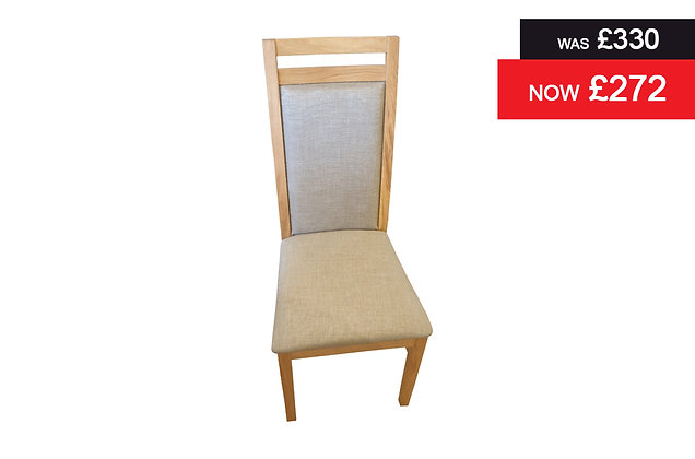Florence Dining Chair with padded seat and back