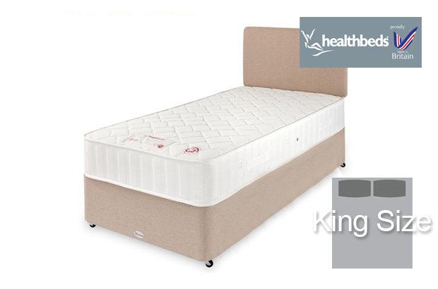 Healthbeds Polo King Size Divan Bed