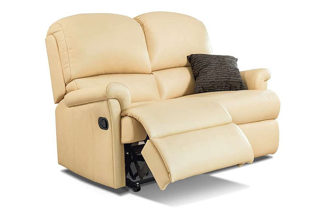 Wexford Leather Standard 2 Seater Recliner Sofa
