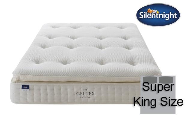 Silentnight Miracoil Elixir Geltex Pillow Top Super King Size Mattress