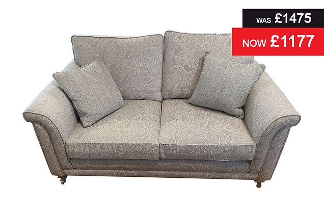 Sorrento 2 Seater Sofa - Duck Egg Paisley