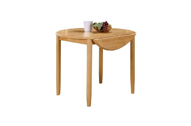 Cologne Round Drop Leaf Dining Table