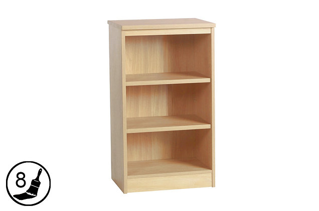 R White M-B60 – Mid Height Bookcase (600mm Wide)