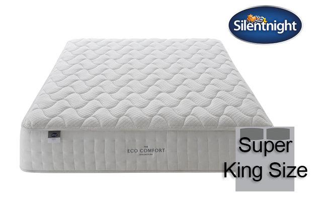 Silentnight Mirapocket Ivory Eco Comfort 1400 Super King Size Mattress