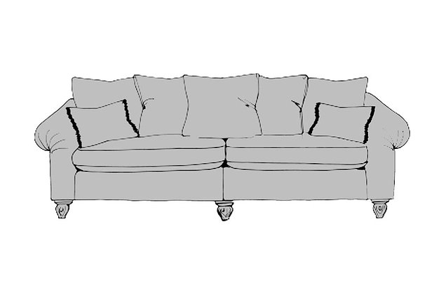 Inca Extra Large Split Sofa
