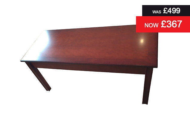 Chippendale Coffee Table - Natural Mahogany