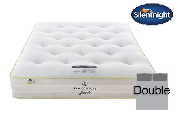 Silentnight Mirapocket Eco Comfort Breath 2000 Soft / Medium Double Mattress