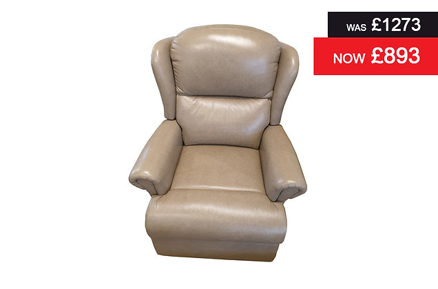 Malvern Manual Recliner Chair - Colorado Mushroom