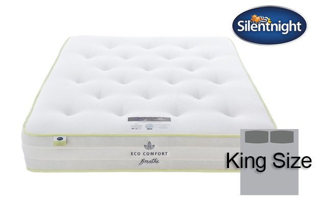 Silentnight Mirapocket Eco Comfort Breath 1200 Super King Size Mattress