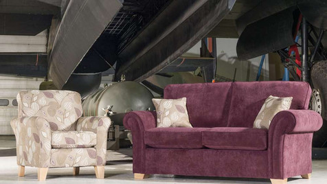 Monet 2 Seater Fabric Sofa & Accent Chair   Gordon Busbridge Furniture & Beds Store   Hastings, Eastbourne, St Leonards on Sea, Bexhill & Seaford