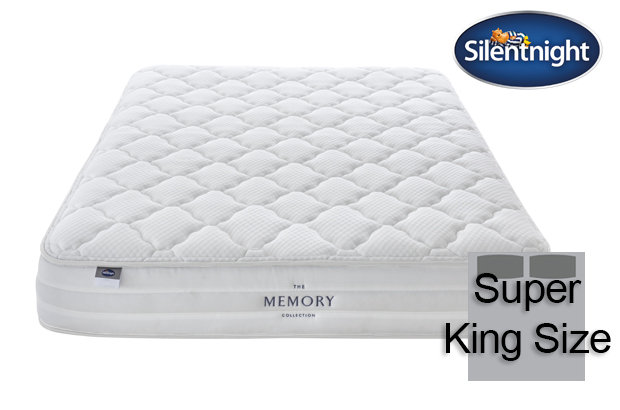 Silentnight Mirapocket Castiel Memory 800 Super King Size Mattress