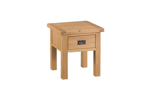 Classic Oak Lamp Table