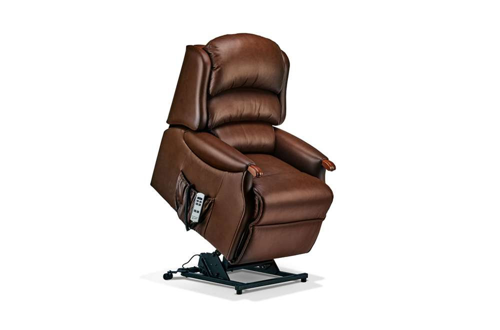 Tremendous Sherborne Malham Leather Small Lift Rise Care Recliner Creativecarmelina Interior Chair Design Creativecarmelinacom