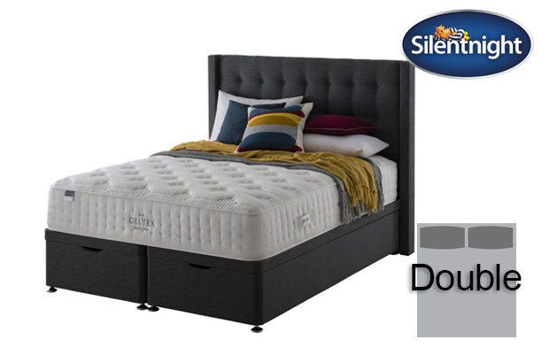 Silentnight Mirapocket Sublime Geltex 2000 Double Divan Bed