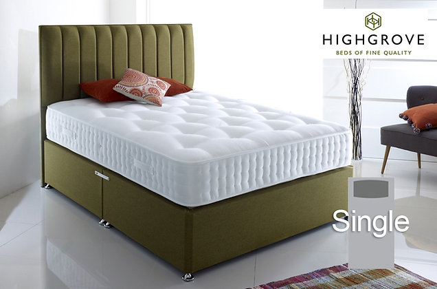 Highgrove Fifteen Single Divan Bed
