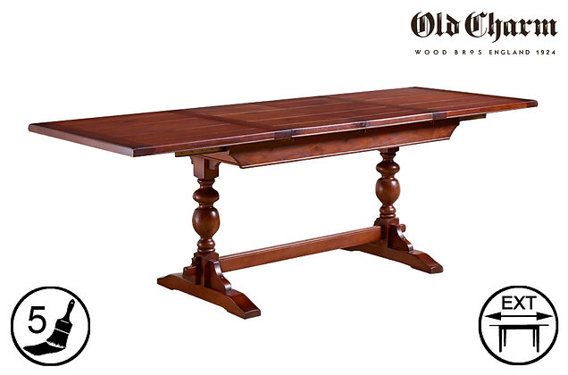 Old Charm Lambourn Extending Dining Table
