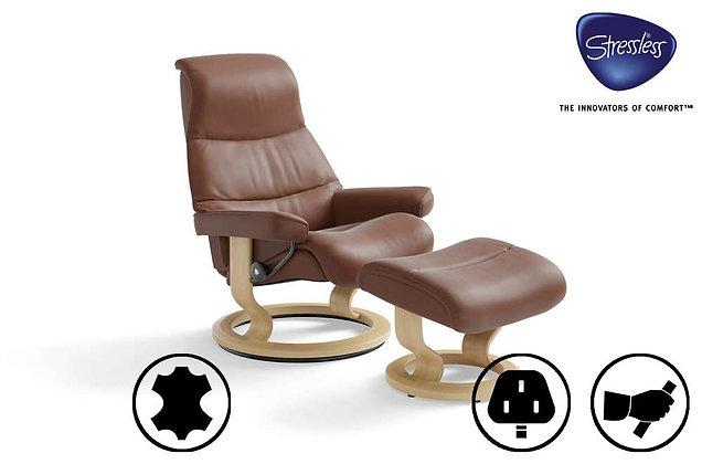 Ekornes Stressless View Swivel Recliner Chair