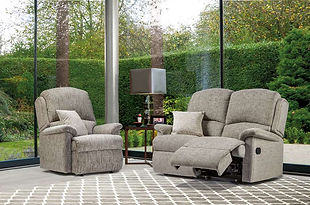 Sherborne Virginia 2 Seater Recliner Sofa & Armchair