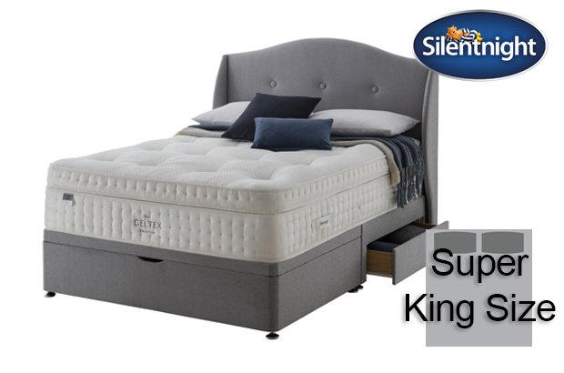 Silentnight Mirapocket Imperial Geltex 3000 Medium Super King Size Divan