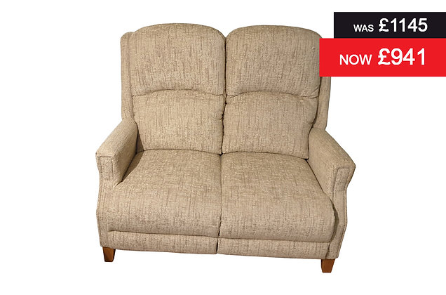 Farringdon 2 Seater Sofa - Slub Jute
