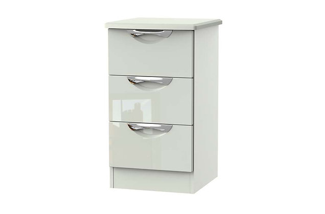 Icon 3 Drawer Bedside