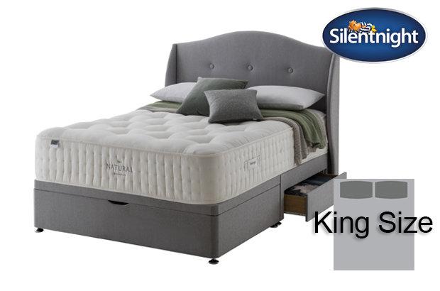 Silentnight Mirapocket Cello Natural 2000 King Size Divan Bed