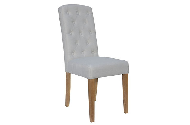 Arch Top Dining Chair – Natural