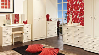 Clifton Cream Bedroom Furniture - Wardrobes, Chest of Drawers, Bedside Cabinets, Dressing Tables, Dressing Stools & Bedroom Mirrors | Gordon Busbridge Furniture | Hastings, Eastbourne, Seaford & Bexhill