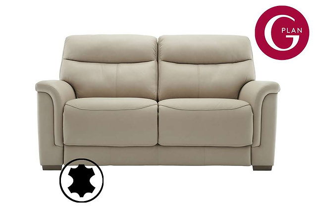 G Plan Harrison Leather 2.5 Seater Sofa