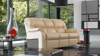 G Plan Mistral Leather 3 Seater Sofa | Gordon Busbridge Furniture & Beds Store | Hastings, Eastbourne, St Leonards on Sea, Bexhill & Seaford