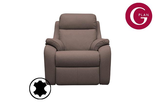 G Plan Kingsbury Leather Armchair