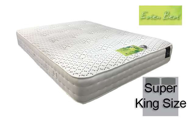 Eden Beds Tencel Pocket 1000 Super King Size Mattress