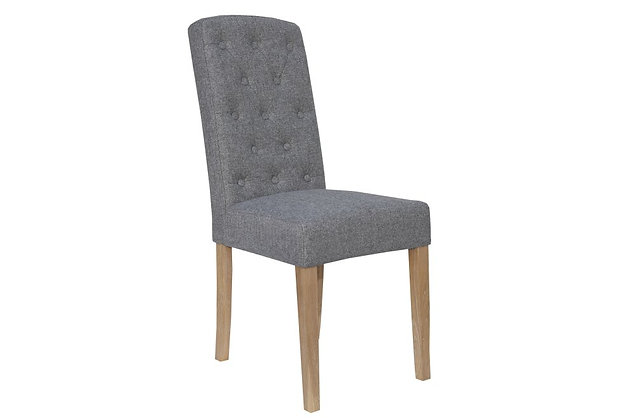 Arch Top Dining Chair – Light Grey