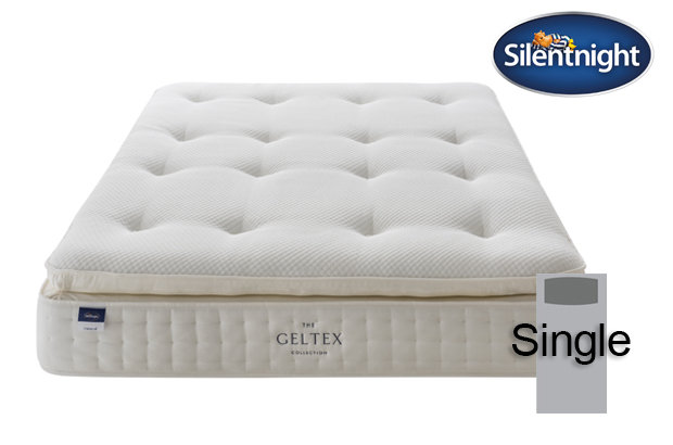 Silentnight Miracoil Elixir Geltex Pillow Top Single Mattress