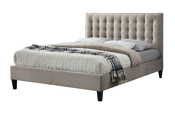 Becky 135cm Double Bedstead - Champagne
