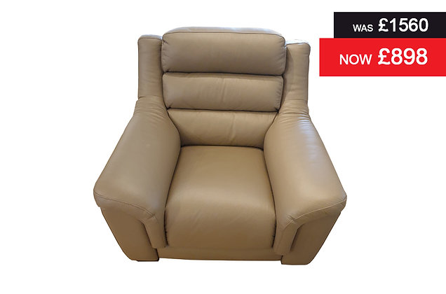 Sophia Power Recliner Chair - Pepper Hide