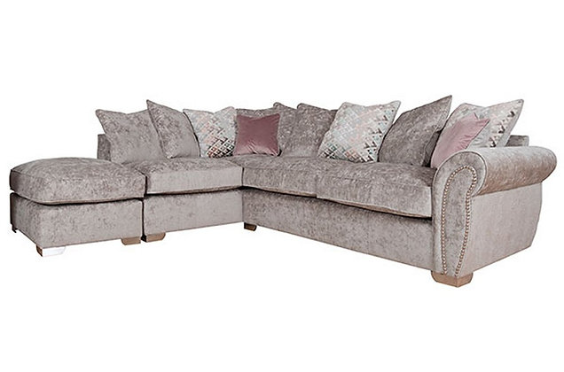 Chelsea Left Hand Facing Pillow Back Corner Sofa