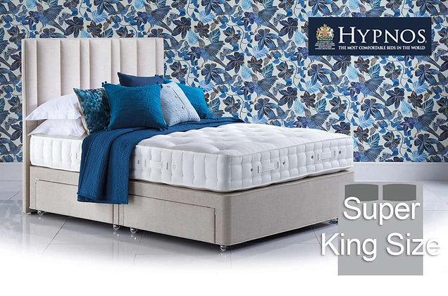 Hypnos Elite Posture Wool Super King Size Divan Bed