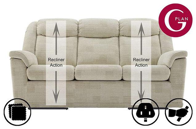 G Plan Milton 3 Seater Recliner Sofa