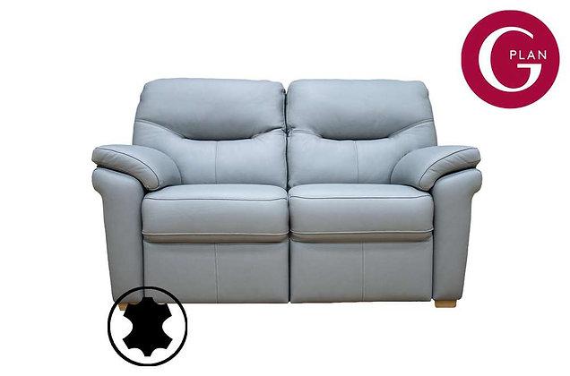 G Plan Seattle Leather 2 Seater Sofa